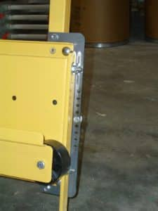 Mobile Panel Saw with Lockable Wheels