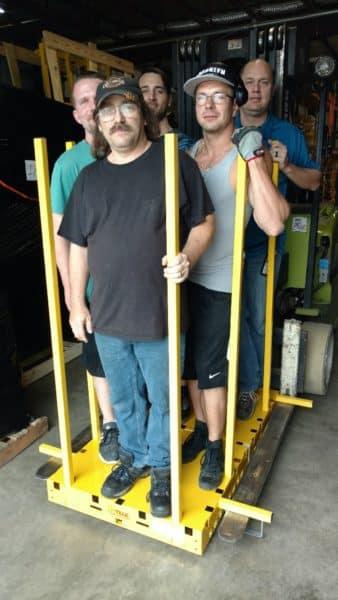 Forklift cart 002