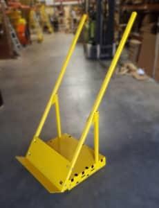 vertical saw cart